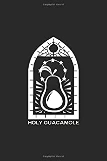 Holy guacamole: 6x9 FOOD | blank with numbers paper | notebook | notes