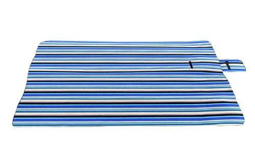 Grand Large (Coussins d'extérieur moisissure Tapis de pique-nique Bleu