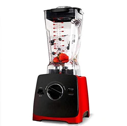 Breaker comercial Máquina de batido de té de alta potencia de la pared Máquina de la fruta de la leche de la leche y la máquina de la licuadora de la verdura, su cuchillo de acero de 6 hojas Puntos rá
