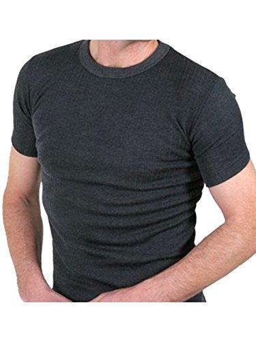 Heren kwaliteit Thermo Short Sleeve Top/T-Shirt/Ondergoed – verkrijgbaar in wit/blauw/antraciet en in de maten klein/medium/large/x Large/XX Large