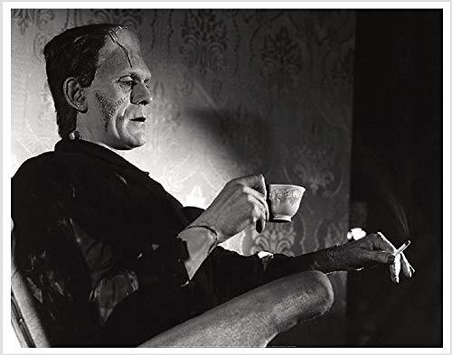Image Conscious Even Monsters Need A Break (Frankenstein/Boris Karloff) 28'x22' Art Print Poster