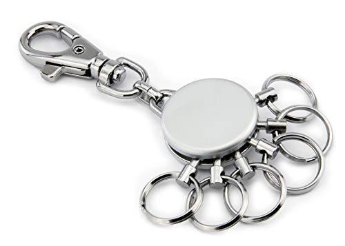 Troika Basic MT – die geniale Schlüsselorganisation | Macht selbst den größten Schlüsselbund einfach zu handhaben | Schlüsselwechsel in Sekunden | Höchste Qualität & Sicherheit – Geschenkverpackung