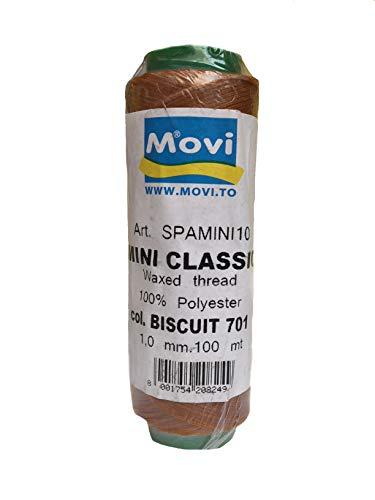 Ficelle ciré – épaisseur 1 mm -100 MT – Couleur 701 Biscuit