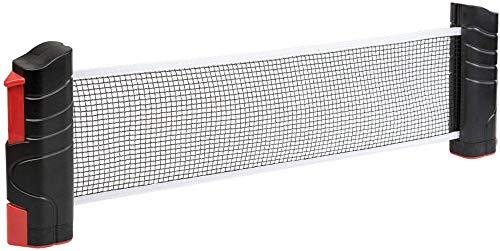 ZSHYP Tafel Tennis Net Set Draagbaar, Ping Pong Net Verstelbaar Draagbaar Voor Ping Pong Tafel, Office Bureau, Eettafel