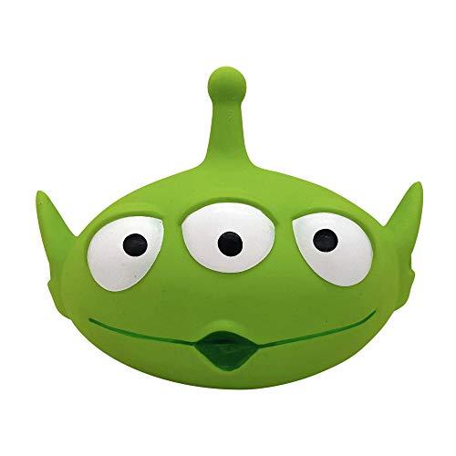 Hyper Pet Disney Toy Story 4 Alien Interactive Super Squeaker Dog Toy