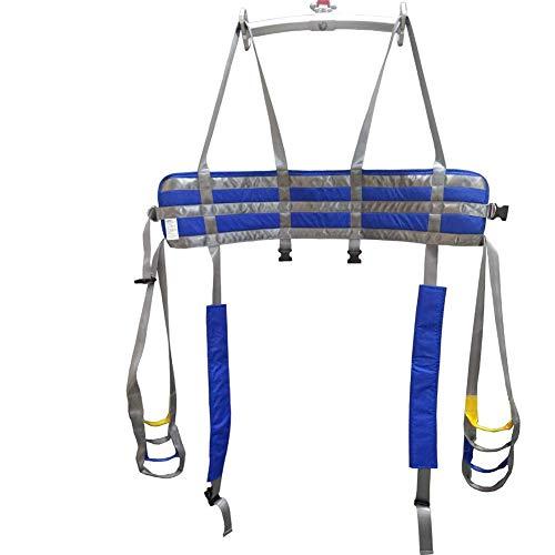 41vzTzSIlkL - Manejar Médico Cuerpo Completo Paciente Eslingas De Elevación Muslo Cadera Cintura Lumbar Atrás Apoya En Pie SIDA Entrenadores Pierna Ejercicio Con Acolchado Cofre Buffer Gran Capacidad De Carga