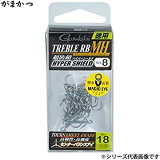 がまかつ(Gamakatsu) トレブルフック バラ 徳用 トレブルRB-MH (HPS)