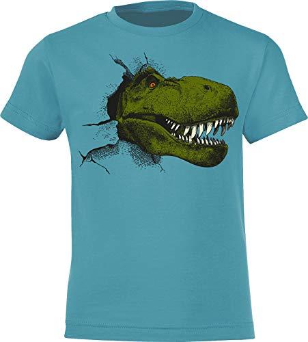 Camiseta: T-Rex - Tyrannosaurus - Dinosaurios Dinosaurio Dino Jurassic T-Rex Planet Ice - T-Shirt Niños Niño Niña Kid-s Pijama Outdoor Regalo Cumpleaños Navidad Birthday