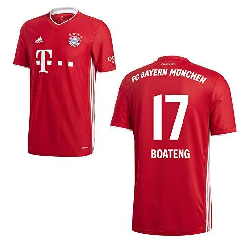 adidas FCB FC Bayern München Trikot Home Heimtrikot 2020 2021 Kinder Boateng 17 Gr 176