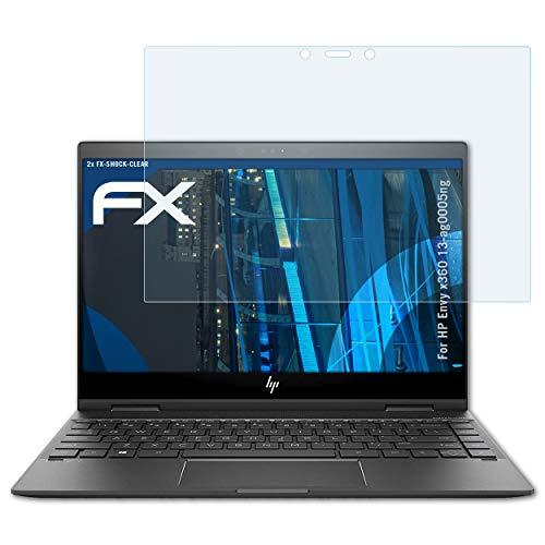 Anti-Fingerprint kristall-klare Displayschutz-Folie BROTECT Schutzfolie kompatibel mit HP Envy x360-15-bp108ng