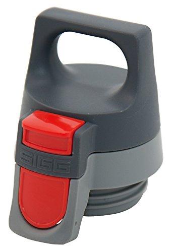 Sigg Unisex– Erwachsene Thermoflasche Hot und Cold ONE Top Grey Flaschendeckel, Gray, 0,60