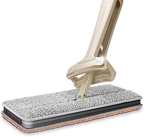 ZXCVBNN MOP, Microfibra Extra Pad Microfibra Microfibra Plana Fregona Adecuado para Sala de Estar Azulejos de Piedra Laminado