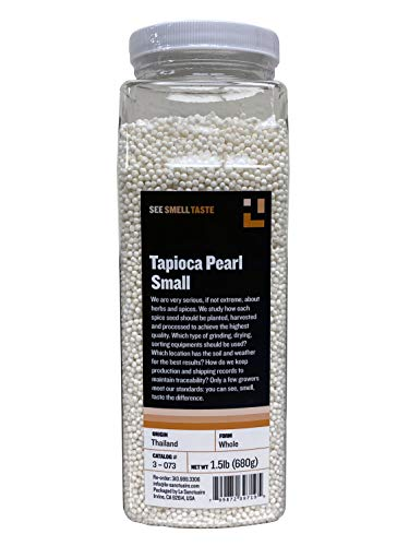 See Smell Taste Tapioca Pearl Small, 1.5 Pound (Pack of 1)