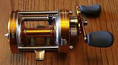 Ming Yang Gold CL60 Baitcast Fishing Reel Muskie Catfish & Saltwater