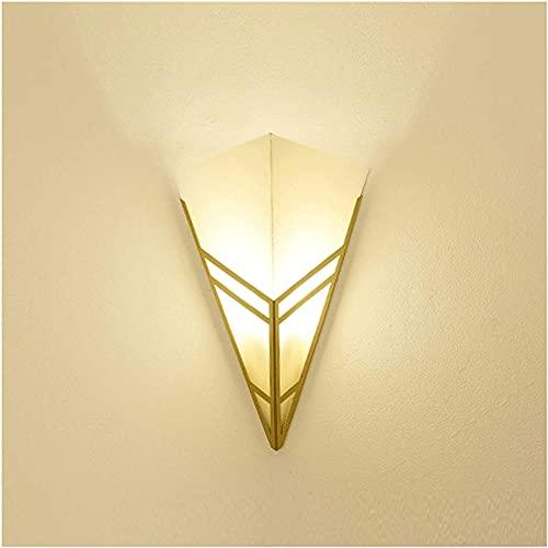 Sxjhhky Lámpara de Pared Minimalista Moderna para Interiores con Pantalla de acrílico Lámpara de Pared Dormitorio Minimalista montado en la Pared, Pasillo, Escalera, lámparas de Pasillo
