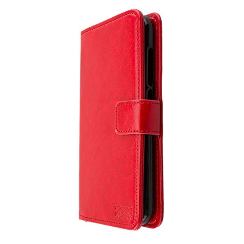 caseroxx Tasche für Gigaset GS160 / GS170 Bookstyle-Case in rot Hülle Buch