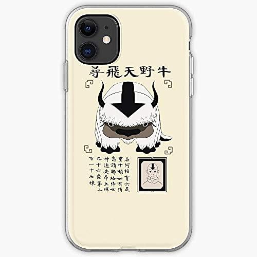 Funda de teléfono compatible con Samsung iPhone Aang 11 Lost 12 Sky Pro Bison Max Avatar Mini Appa X/XS Air XR Airbender 8 The 7 Last 6 6S Plus Protección antiarañazos