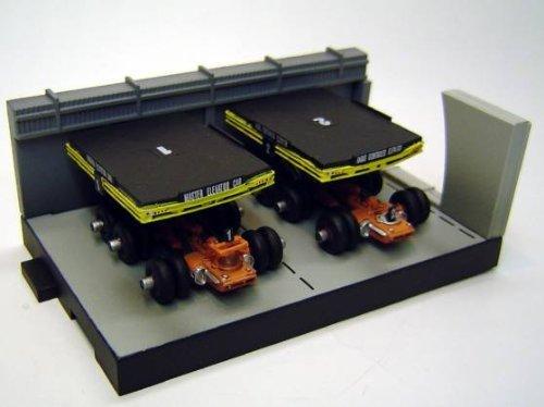film Konami SF Serekushon Thunderbird POD vehicule voiture Vol.1-1 Poddomeka hangar diorama d'ascenseur separement
