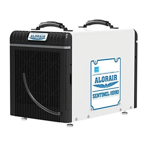 ALORAIR Basement/Crawl Space Dehumidifiers 198 PPD (Saturation), 90 PPD (AHAM), 5 Years Warranty, Auto Defrosting System, cETL, up to 2,600 Sq. Ft, Remote Control (optional)