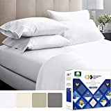 California Design Den 1000-Thread-Count Luxury Sheets King Size - Pure...