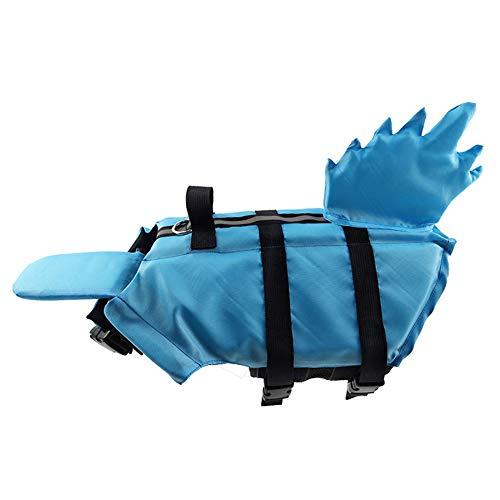 Hond Reddingsvesten Zwemvest Voor Honden Hond Jassen Voor Grote Honden Waterdichte Hond Rain Jacket Hond Jassen Waterdicht Hond Zwemmen Vest blue,S