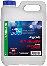 YMBERSA Algicida Alta Potencia LEB VETIKAD 230. Botella 2 Lt. + Regalo Vaso dosificación Graduado