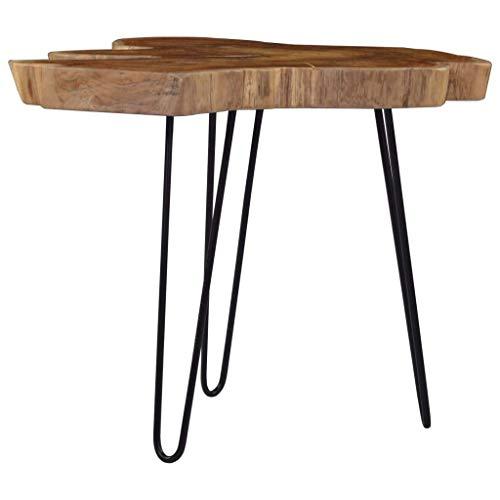 Tavolino da caffè, tavolino laterale Tavolino da cocktail Tavolino da centro Divano Tavolino Tavolino da tè Tavolino (60-70) x45 cm Legno di teak