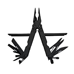 SOG Specialty Knives & Tools B61-L Power Lock EOD 20 Scissor Multi Tool with Half Serrated Steel Blade 22-Tools
