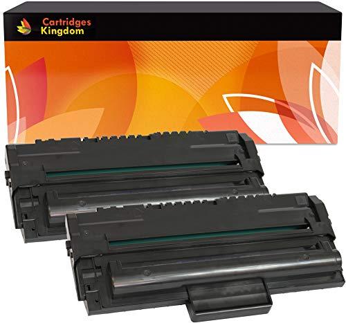 Cartridges Kingdom 2 Schwarz Toner kompatibel für Samsung SCX-4016, SCX-4116, SCX-4216, SCX-4216F, SF-560, SF-565P, SF-565PR, SF-565R, SF-750, SF-755, SF-755P