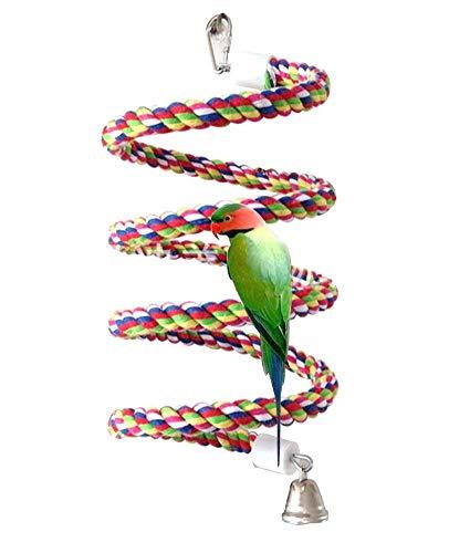Petsvv Rope Bungee Bird Toy