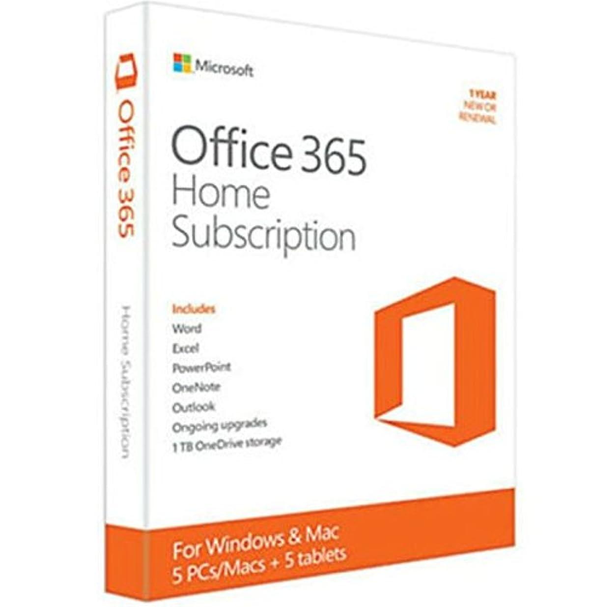 増強スポーツ咽頭Office 365 Home (5台版)(Word/E xcel/PowerPoint/OneNote)【並行 輸入品】
