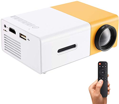Ohyoulive Mini Projector - Portable Theater Home Office HD 1080P...