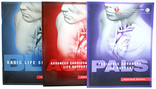 Provider Manual Bundle 2015 Guidelines - Basic Life Support (BLS) Advaned Cardiovascular Life Support (ACLS) Pediatric Advanced Life Support (PALS) w/ Reference Cards