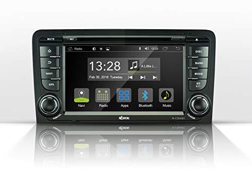 Radical R-C10AD1 Autoradio Android Audi A3 8P 8PA