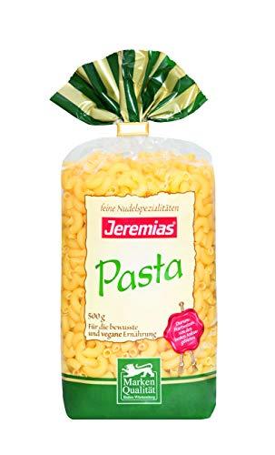 Jeremias Hörnchen, Pasta - Hergestellt aus reinem Hartweizengrieß, 4er Pack (4 x 500 g Beutel)