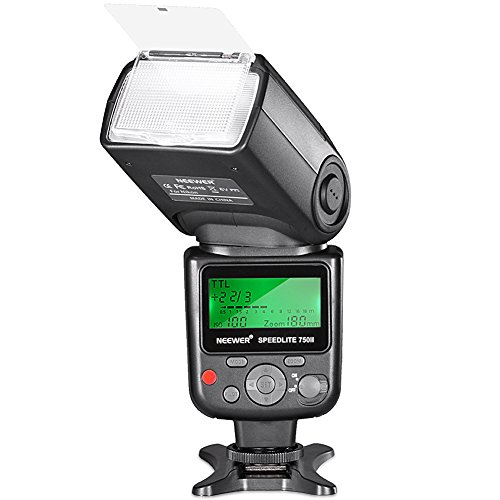 Neewer 750II TTL Flash Speedlite para Nikon D7200 D7100