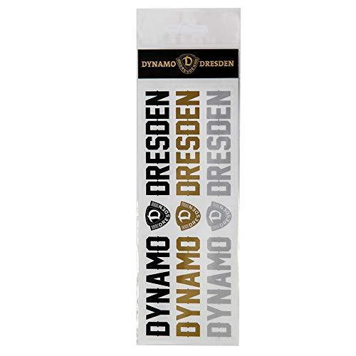 SG Dynamo Dresden Aufkleberkarte 3er Schriftzug Dynamo
