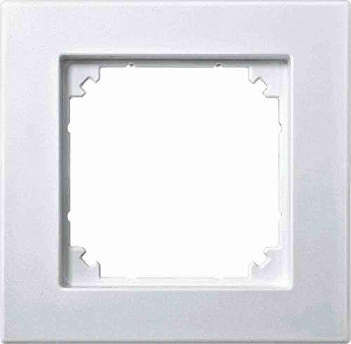 Merten 486119 M-PLAN-Rahmen, 1fach, polarweiß