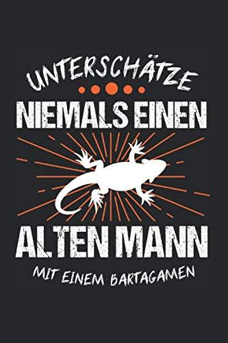 Bangamen Eidechse Terrarium Reptil: Bartagamen & Bartagame Notizbuch 6'x9' Eidechse Geschenk für Reptilien & Haustier