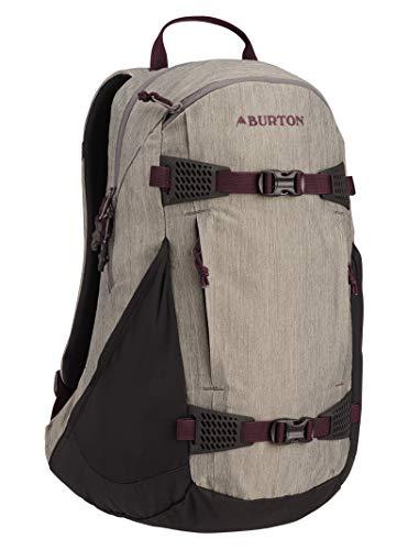 Burton Multi-Season Women's Day Hiker 25L Hiking/Backcountry Backpack, Castlerock Heather, One Size