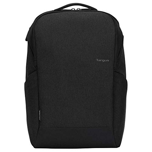 Targus Cypress Slim Backpack with EcoSmart Designed for Business Traveler and School fit up to 15.6-Inch Laptop/Notebook, Black (TBB584GL)