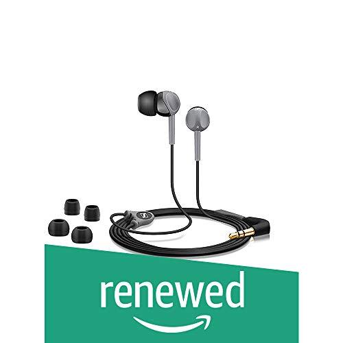 (Renewed) Sennheiser CX 180 Street II in-Ear Headphone (Black)
