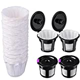 Best Reusable K Cups - Reusable K Cups with Paper Filters Set, Including Review