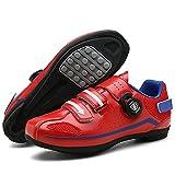 BSTL Chaussures de Cyclisme Chaussures de Vélo pour Hommes Chaussures de Vélo de Route Chaussures...