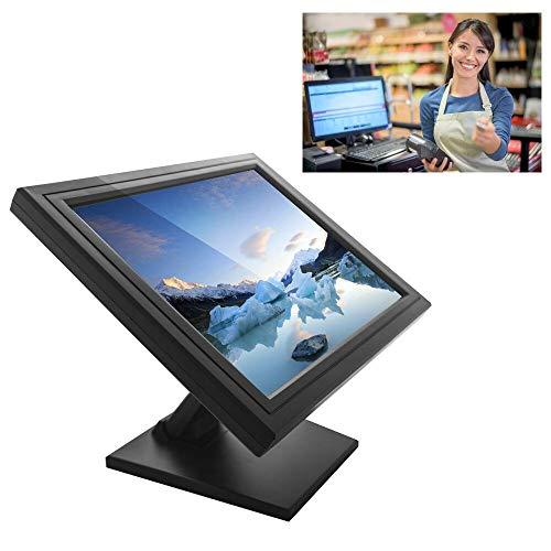 SENDERPICK - Monitor touchscreen LCD da 17', per computer VGA, USB, per ristorante, bar, caffè, donut store, menu