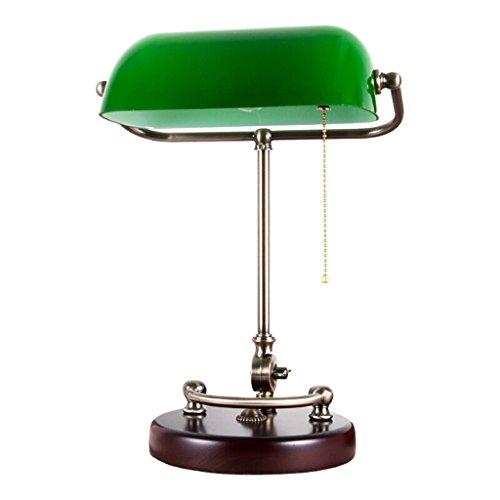 JILAN HOME- Lámpara de mesa de lectura de escritorio tradic