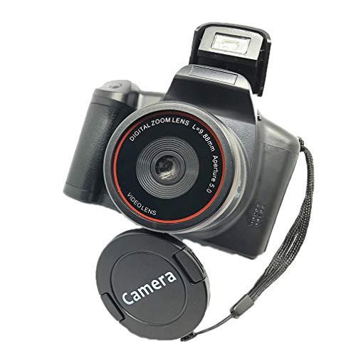 XJ05 Digitale camera SLR 4X Digitale zoom LCD-scherm 3mp CMOS 12MP Resolutie Zwart