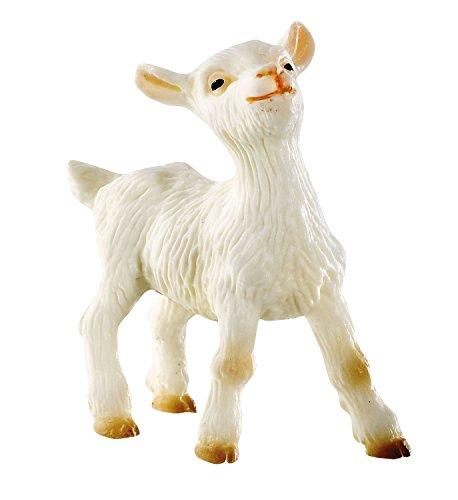 Bullyland 62319 - Figura de Juego, cabrita, Aprox. 5 cm de Altura, Figura Pintada a Mano, sin PVC, para Que los niños jueguen de Forma imaginativa
