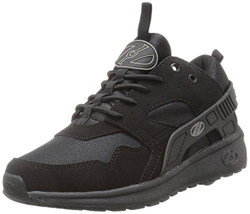 Heelys Unisex-Kinder Force Sneaker, Schwarz (Black/Black Black/Black), 35 EU