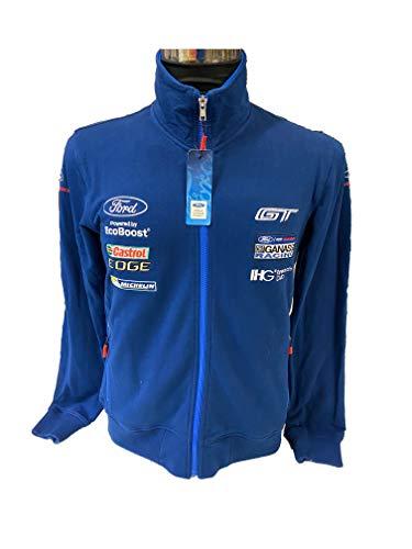 RW Ford Performance Mens Team Sweatshirt GT Motorsport Sweat Jacke, XXL
